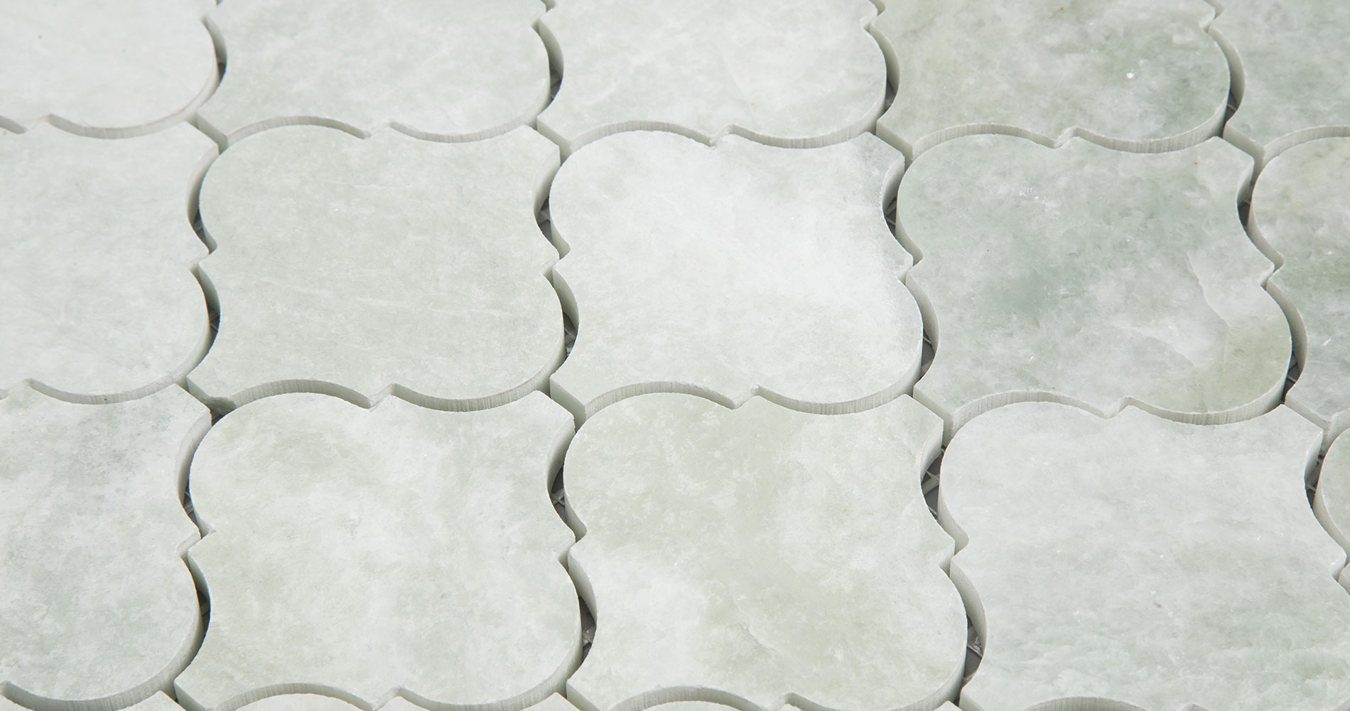 centurymosaic-ming-green-Arabesque-Marble-Mosaic-Tile-Collection-2