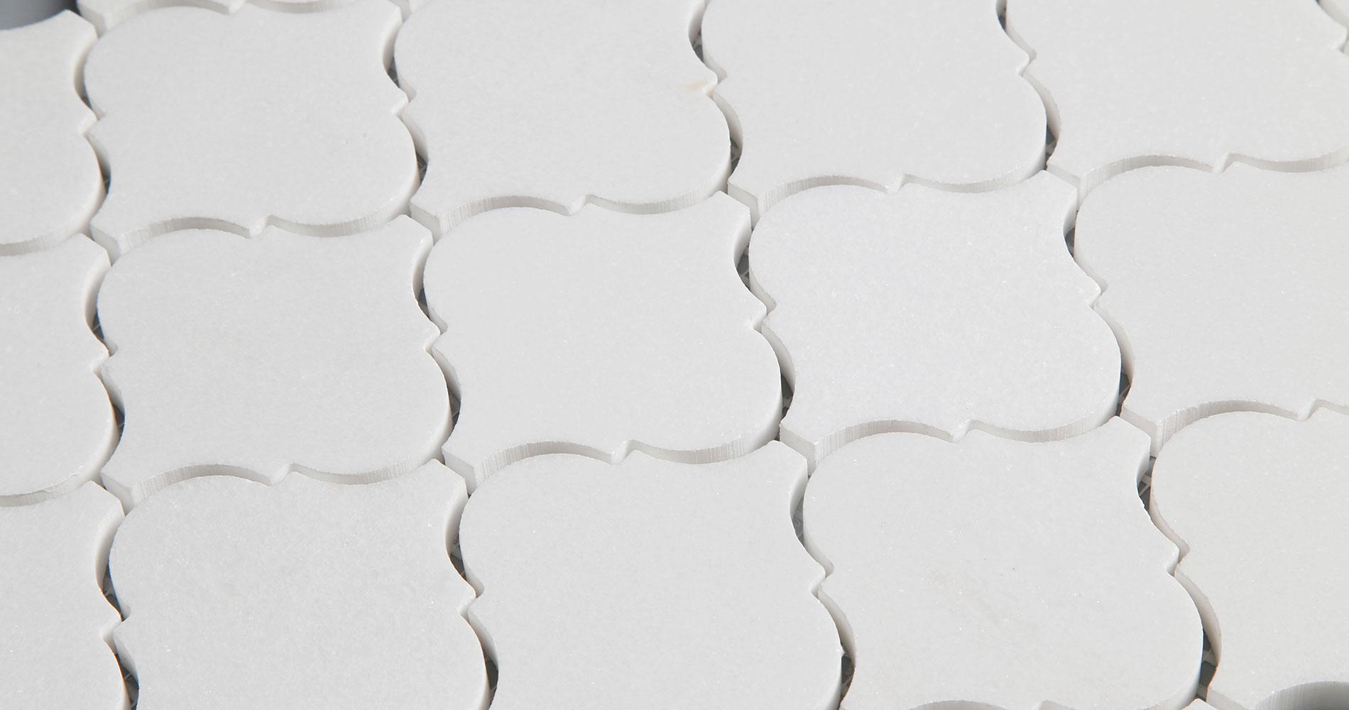 centurymosaic-white-thassos-Arabesque-Marble-Mosaic-Tile-Collection-2