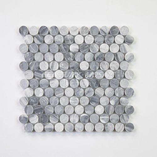 centurymosaic-carrara-gray-25-penny-round-mosaic-tile