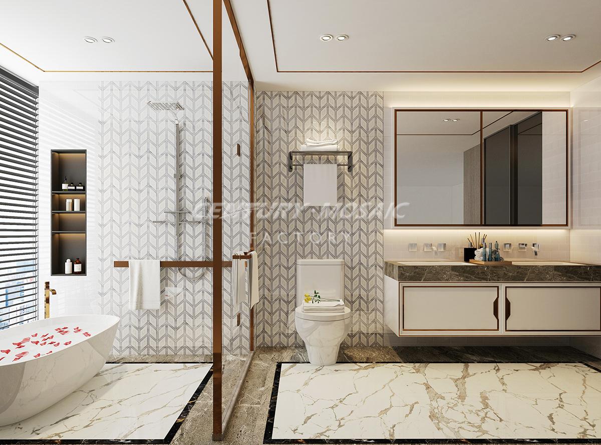 centurymosaic-Begonia-waterjet-mosaic-tile