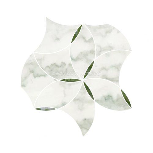 Centurymosaic-Swirling-Crinoline-Water-Jet-Mosaic-Tile