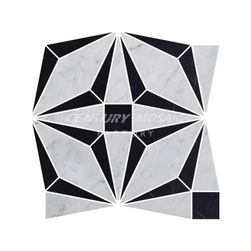 centurymosaic-Kawasaki-Rose-waterjet-mosaic-tile