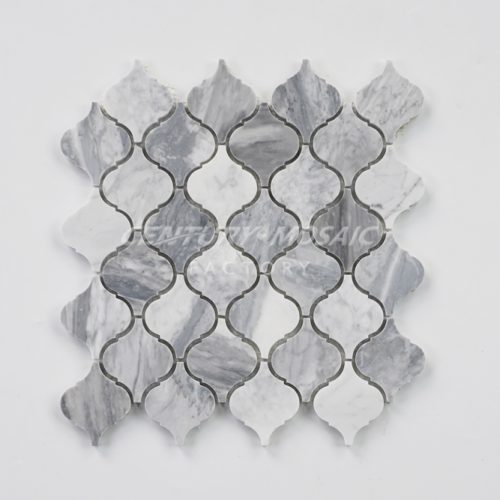 centurymosaic-carrara-gray-Arabesque-mosaic-tile