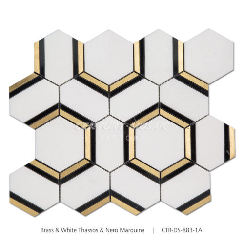 Century-Mosaic-Blends-Hexagon-Mosaic-Tile-Collection