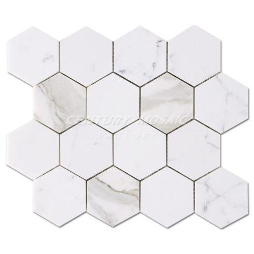 Century-Mosaic-Calacatta-Gold-Hexagon-Mosaic-Tile-1