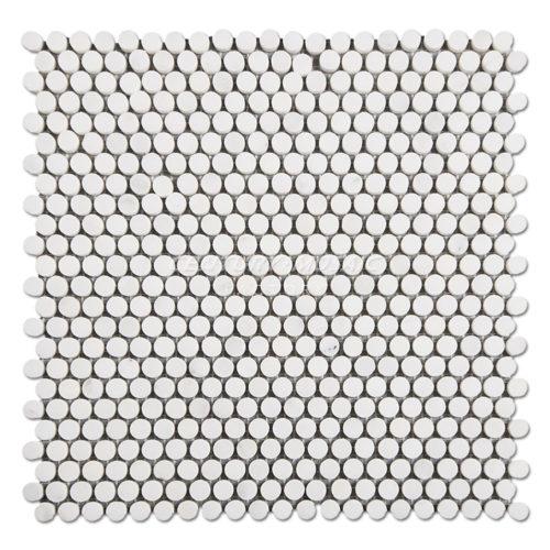 Century-Mosaic-Statuary-White-Penny-Round-Mosaic-Tile-1
