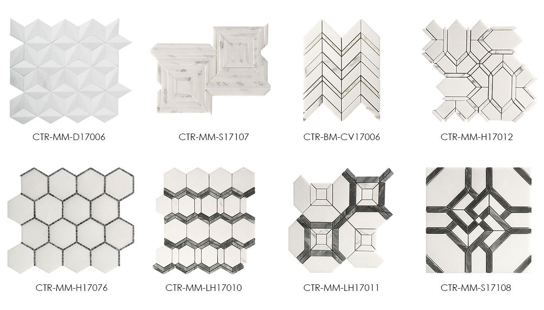 Century-Mosaic-White-Thassos-New-Product-Mosaic