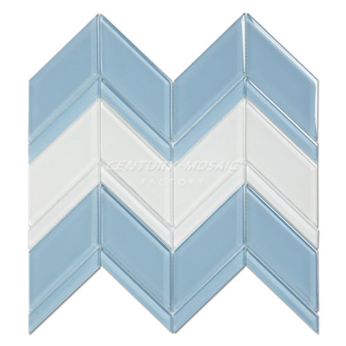 Century-mosaic-Crystal-Glass-Blends-Chevron-Mosaic-Tile-Collection