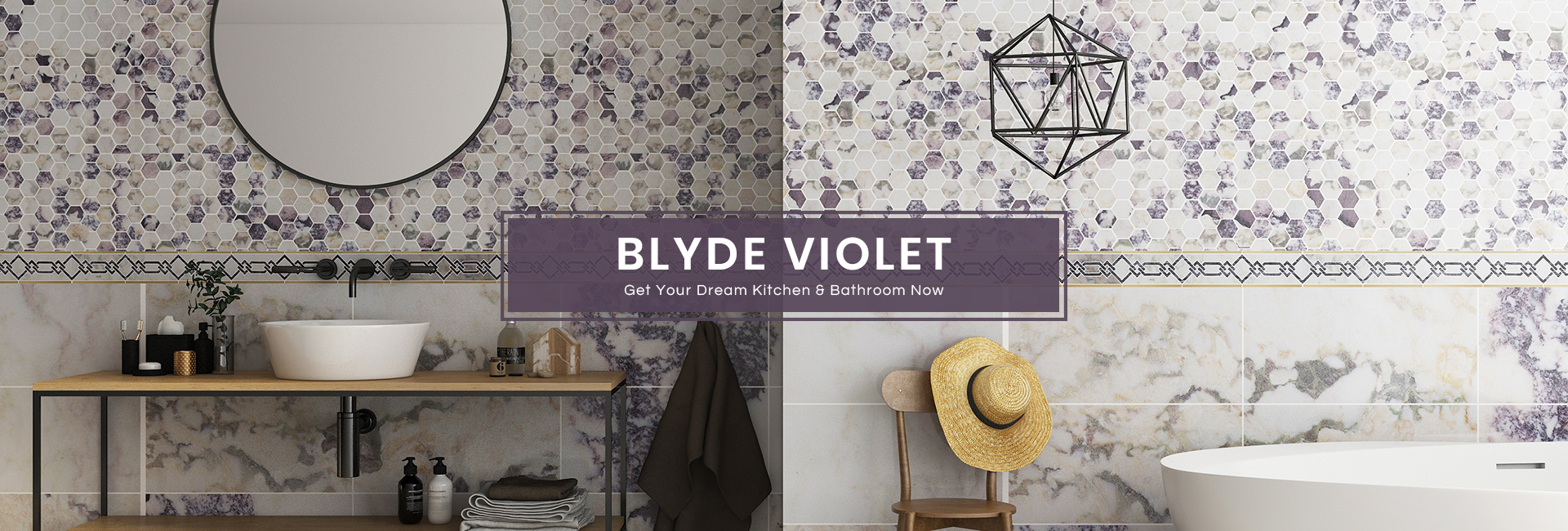 Centurymosaic Blyde Violet Collection