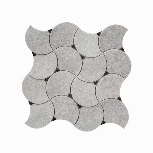 Centurymosaic-Dancing-Fan-marble-mosaic-tile