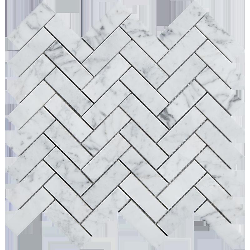 centurymosaic-1-inch-by-3-inch-herringbone-marble-mosaic-tile