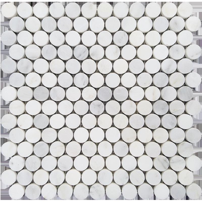 centurymosaic-23mm-penny-round-marble-mosaic-tile