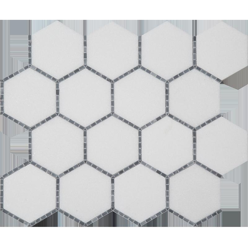 centurymosaic-3-inch-hexagon-marble-mosaic-tile