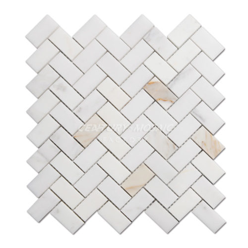 centurymosaic-Calacatta-1x2-Herringbone-Marble-Mosaic-Tile-Collection-1