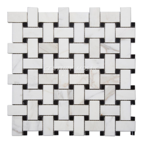 centurymosaic-Calacatta-Gold-Marble-Basketweave-Mosaic-Tile-Collection-1