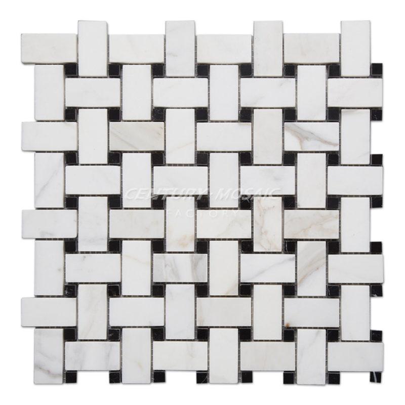 centurymosaic-Calacatta-Gold-Marble-Basketweave-Mosaic-Tile-Collection-1