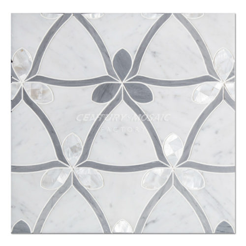 centurymosaic-Clover-Water-Jet-marble-and-shell-Mosaic-Tile-1.jpg