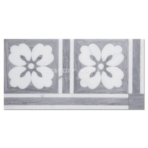 centurymosaic-Gardenia-Water-Jet-marble-Mosaic-Tile-1