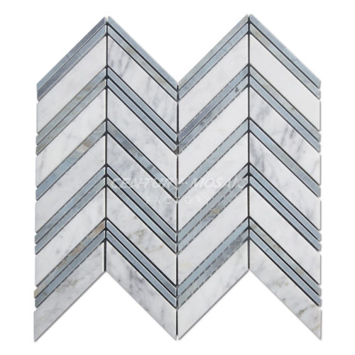 centurymosaic-Marble-Chevron-Mosaic Tile-Pattern-One-Collection-1
