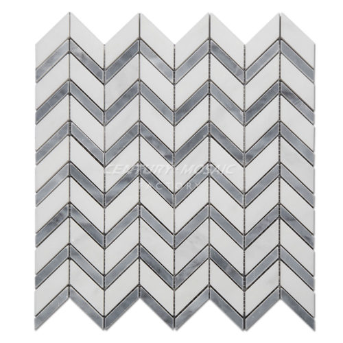 centurymosaic-Marble-Chevron-Mosaic-Tile-Pattern-Two-Collection-3