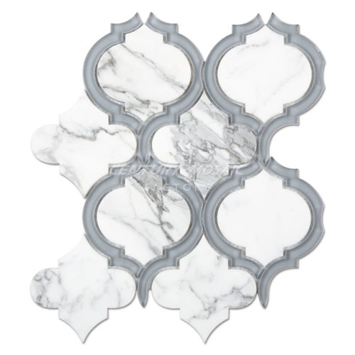 centurymosaic-Marble-and-Glass-Arabesque-Mosaic-Tile-Collection-1