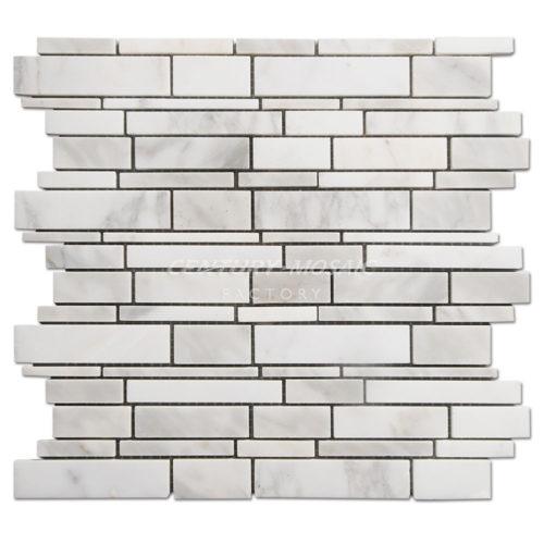 centurymosaic-Random-Strip-Marble-Mosaic-Tile-1
