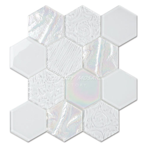 centurymosaic-Relief-Crystal-Glass-Hexagon-Mosaic-Tile-1