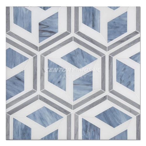 centurymosaic-Rubik's-Cube-Water-Jet--marble-Mosaic-Tile-1