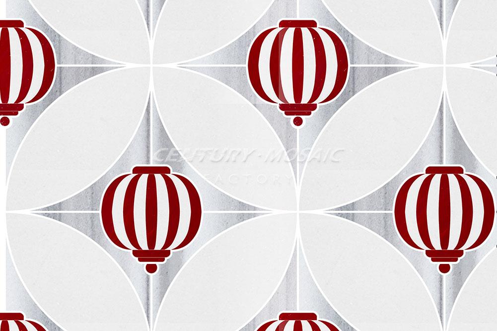 centurymosaic-Sky-Lantern Marble Waterjet Mosaic Tile (6)