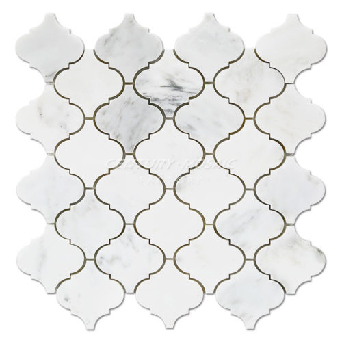 centurymosaic-Statuary-White-Arabesque-Marble-Mosaic-Tile-Collection-1
