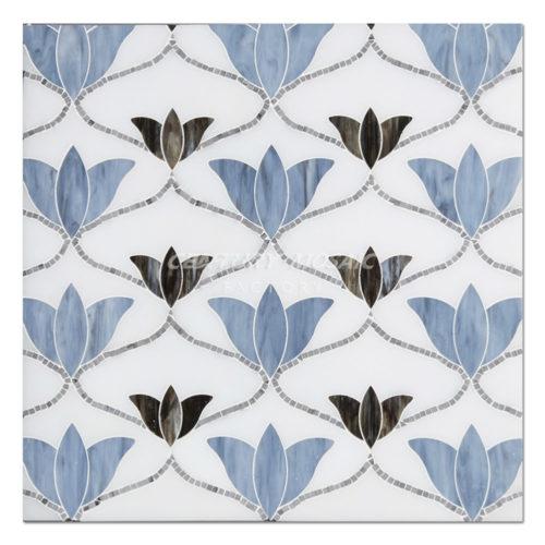 centurymosaic-Tulip-Water-Jet-marble-Mosaic-Tile-1
