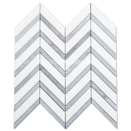 centurymosaic-White-Marble-Chevron-Mosaic-Tile-1