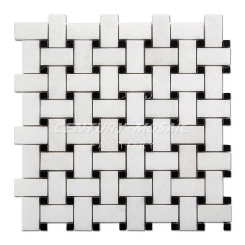 centurymosaic-White-Thassos-Marble-Basketweave-Mosaic-Tile-Collection-1
