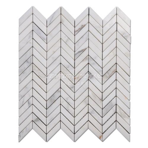 centurymosaic-calacatta-gold-Marble-Chevron-Mosaic-Tile-1