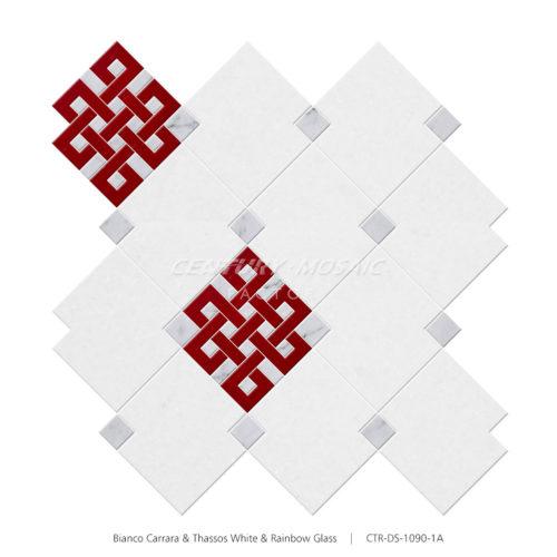 centurymosaic-chinese-knot-marble-waterjet-mosaic-tile-wholesale (3)