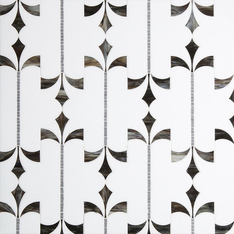 centurymosaic-crown-Water-Jet-marble-Mosaic-Tile