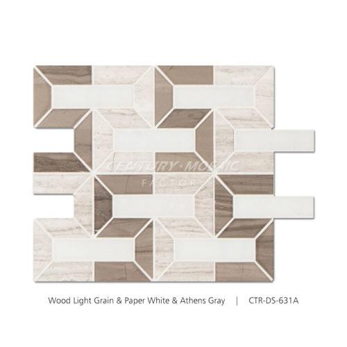 Digital Fortress Marble Mosaic